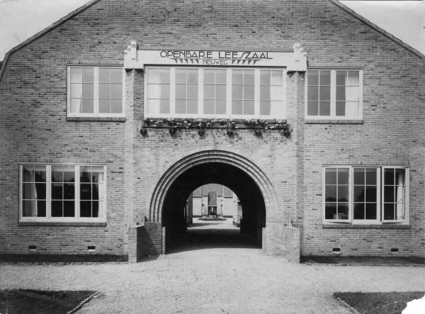 Openbare leeszaal, Bloemenbuurt, Hilversum