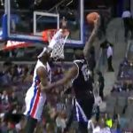 Video: DeMarcus Cousins Posterizes Andre Drummond