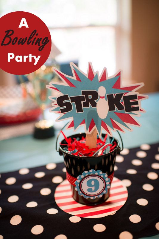 Bowling Birthday Party Ideas by Hoopla Events