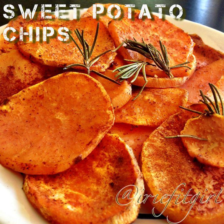 Sweet Potato Chips | IrieFitGirl