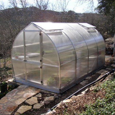 Hoklartherm RIGA IVS 7.6 x 14-Foot Greenhouse Kit