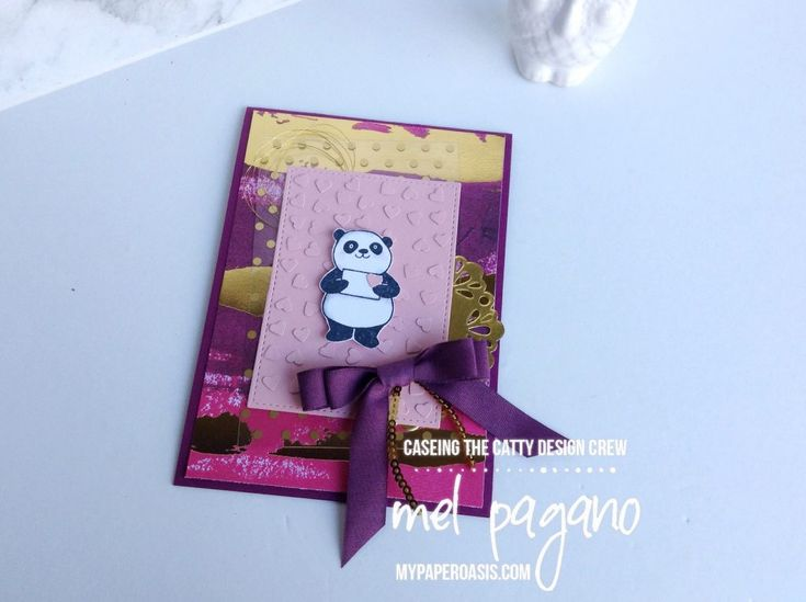 CTC 163 - Saleabration - Painted with Love Panda's by Mel Pagano at My Paper Oasis