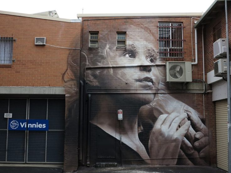 mural, Lismore, New South Wales, Australia by photorealistic artist Guido van Helten. guidovanhelten.com