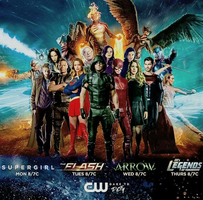 Heroes Join Forces ~ MY BODY IS READY FOR THE BIG CROSSOVER ~ SUPERGIRL ※ THE FLASH ※ ARROW ※ LEGENDS OF TOMORROW ※ SUPERMAN