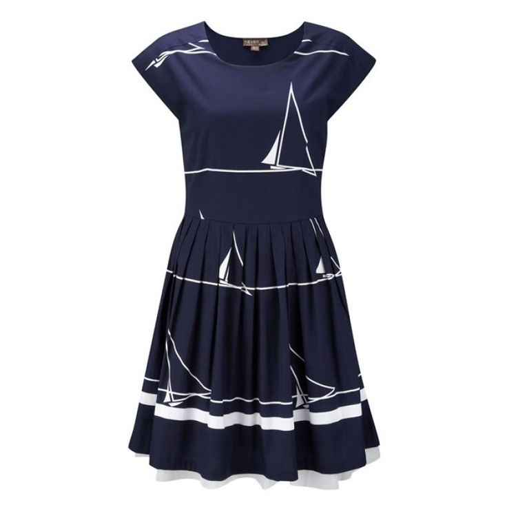 Fever St Ives tea dress   I'm not normally a fan of nautical fashion but this is lovely ♥