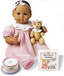 First Christmas or First Birthday must have for a little girl. American Girl Bitty Baby.