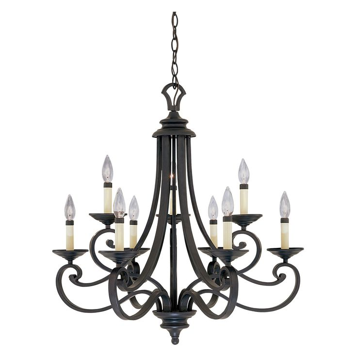 Designers Fountain Lighting Canada: Designers Fountain 9039 Barcelona 9 Light Chandelier In