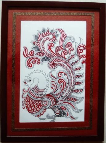 Kalasiddhiart - Kalamkari Painting