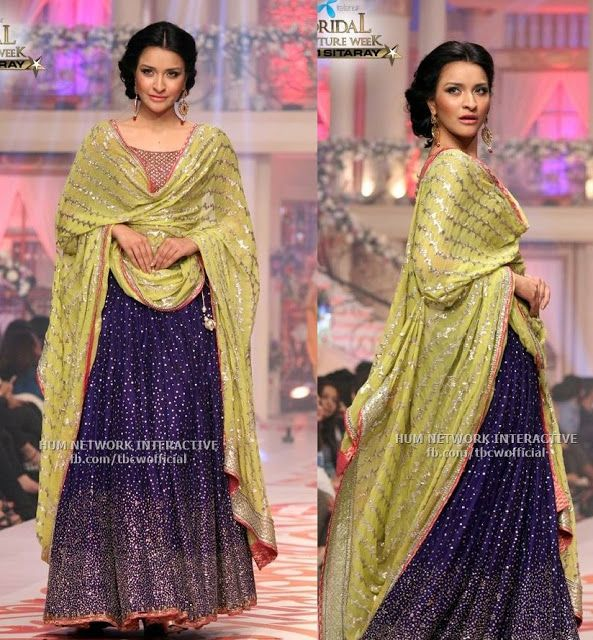 Curly Fries: Lollywood Ishtyle: Bin Roye's Glittering Outfits