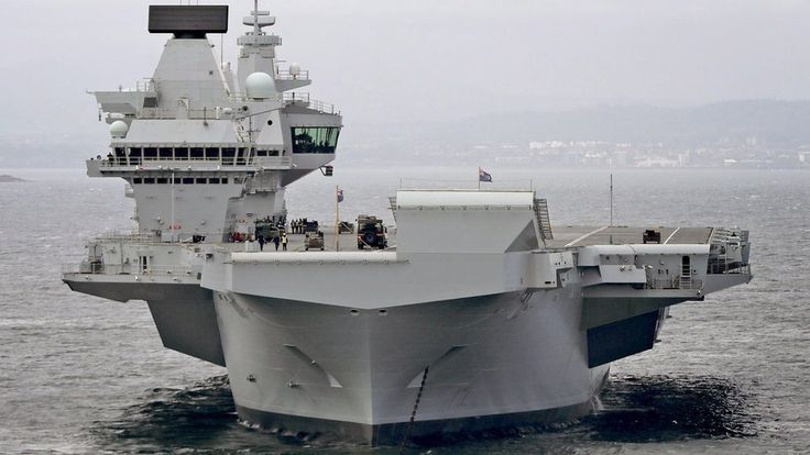 """Russia says new UK aircraft carrier 'a convenient target' https://tmbw.news/russia-says-new-uk-aircraft-carrier-a-convenient-target  Media playback is unsupported on your deviceRussia has dismissed the Royal Navy's new aircraft carrier as """"just a convenient, large maritime target"""".Russian Defence Ministry spokesman Maj Gen Igor Konashenkov was hitting back at the UK for criticism of Russia's ageing carrier Admiral Kuznetsov.HMS Queen Elizabeth set sail on Monday from Rosyth dockyard in…"""