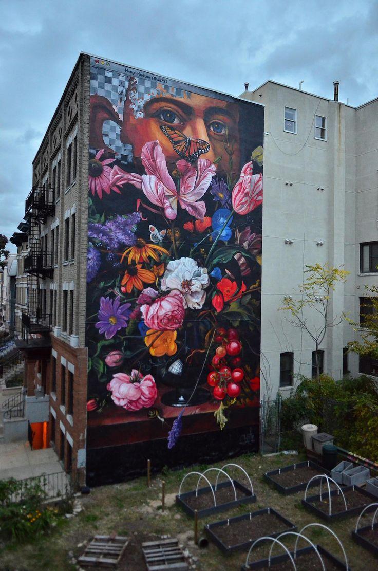 Graffiti art jersey city - Gaia New Mural For Savage Habbit New Jersey Usa