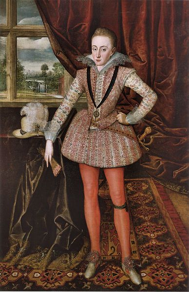 Portrait of Henry Prince of Wales, 1610 by Robert Peake