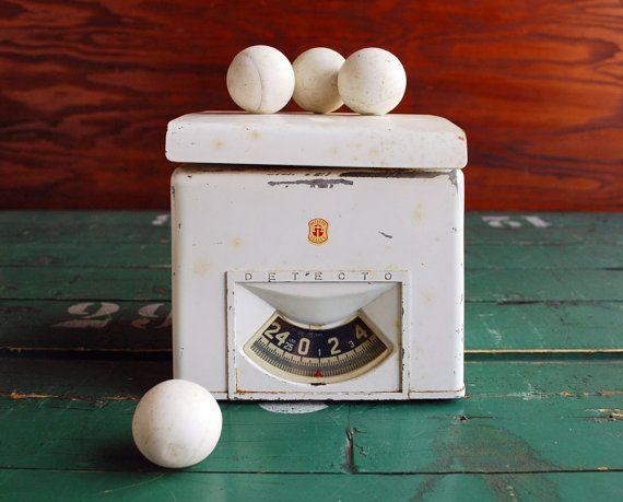 Vintage Detecto Kitchen Scale Sturdy Midcentury Design by BingoBox, $30.00