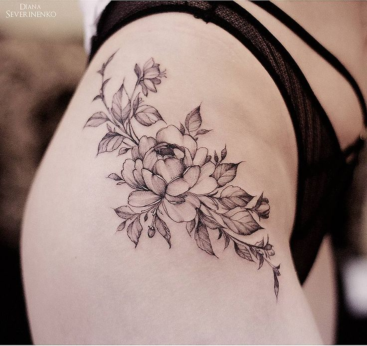 Best 25+ Hip Tattoo Designs Ideas On Pinterest