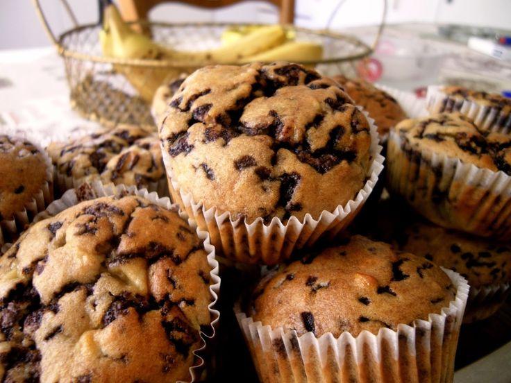 Μπανανοmuffins   Μυρωδάτα Φουρνίσματα - Smells Like Baking