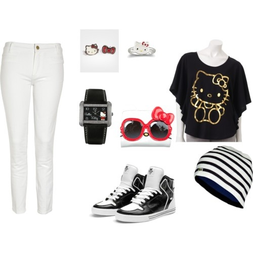 Hello Kitty Outfit! Cute