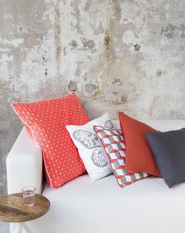 les 251 meilleures images du tableau d co rose orang e et. Black Bedroom Furniture Sets. Home Design Ideas