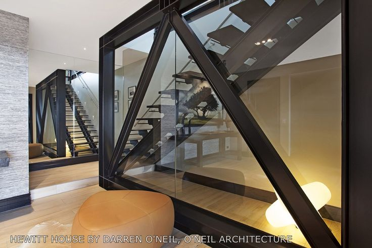 Unique staircase designed by ADNZ member Darren O'Neil #ADNZ #architecture #staircase