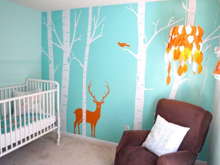 Baby Nursery : Ba Room Nursery Teal Nursery Yellow Nursery Grey ...