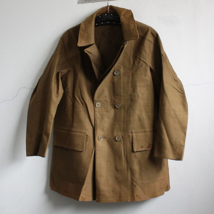 British Army 1941 Rubberproofed Double-Breasted Coat