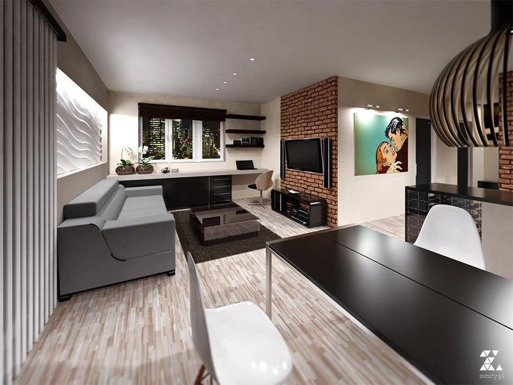 interior render: living room