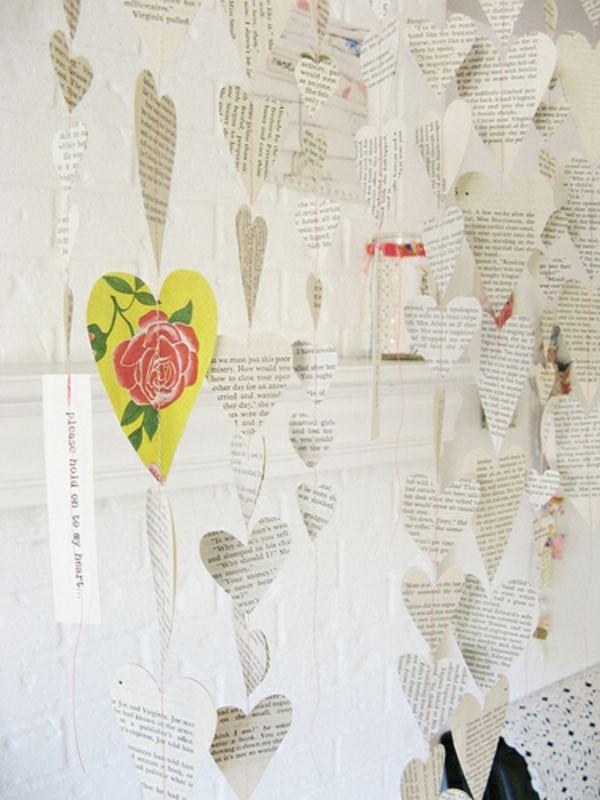 Herz Kette Zum Valentinstag Selber Basteln   Wunderschöne Idee