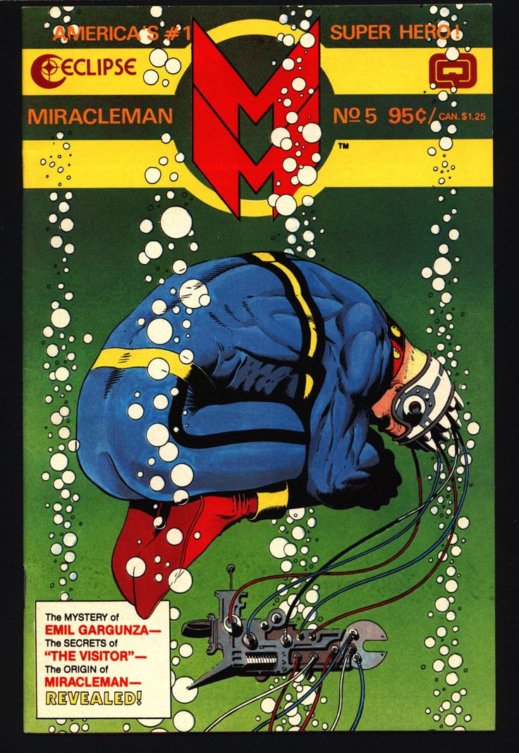 MIRACLEMAN Marvelman #5 eclipse comics 1985 ALAN MOORE John Ridgway Warpsmiths Anti-Superhero Kid Family Dr. Gargunza Alan Davis