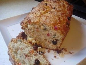 Coconut Sweet Bread:    Thinking about trying chocolate covered dried fruit such as cherries or blueberries. Yum!    http://caribbeanpot.com/how-to-make-coconut-sweet-bread/