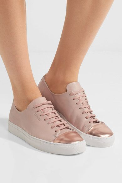 Axel Arigato - Metallic-trimmed Leather Sneakers - Pink - IT36