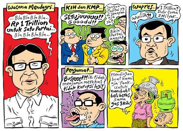 Mice Cartoon, Rakyat Merdeka - Maret 2015: Wacana Mendagri