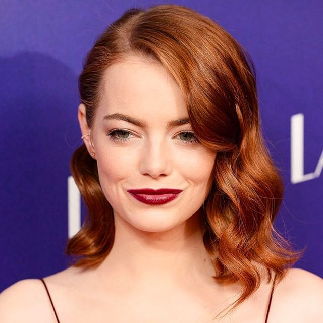 Has Emma Stone ever looked better than at last night's London premiere of La La Land? A burgundy @therow slip dress, the ultimate berry-toned @narsissist lip and fiery hair styled in soft curls – it was the ultimate celebration of red on the red carpet, and enough to make us all want to dye our hair that exact shade of russet. We talked to Stone's make-up artist @rachel_goodwin to find out how to hit the beauty nail on the head every time when you're a redhead - via the link in bio