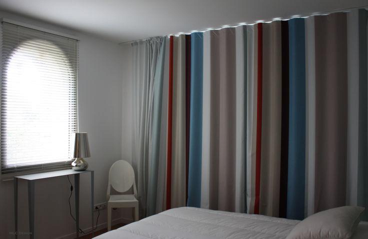 rideaux ray s et store v nitien pour chambre villa bord. Black Bedroom Furniture Sets. Home Design Ideas