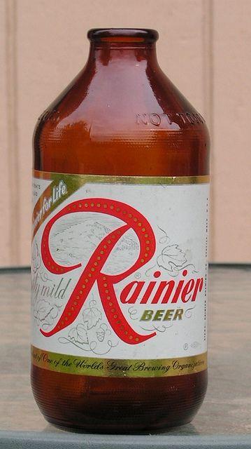 rainer beer in bottle |