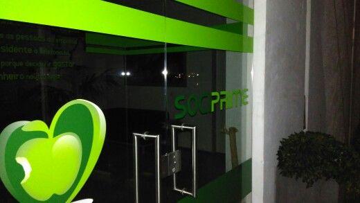 Decoração de portas vidro @Sociprime