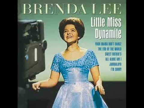 """Brenda Lee - I'm Sorry .. """"I'm Sorry"""" is a 1960 hit song by 15-year-old American singer Brenda Lee. It peaked at No. 1 on the Billboard Hot 100 singles chart in July 1960. Allmusic guide wrote that it is the pop star's """"definitive song"""", and one of the """"finest teen pop songs of its era""""."""
