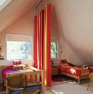 Shared Kids 39 Room Divider Curtain Kids Rooms And Stuff Pinterest
