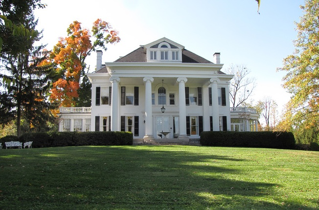 19 best old houses colonial revival images on pinterest for Kentucky dream homes floor plans