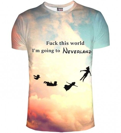 I'm going to neverland t-shirt Thumbnail 1