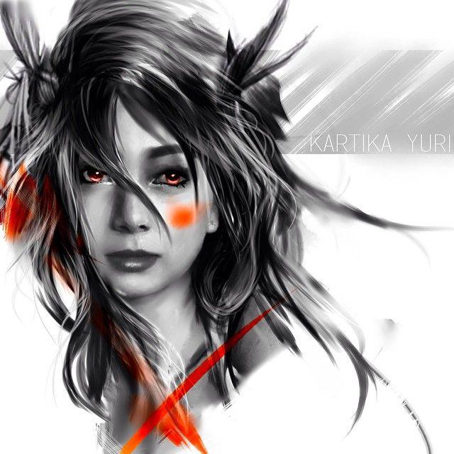 Digital paint yuriko