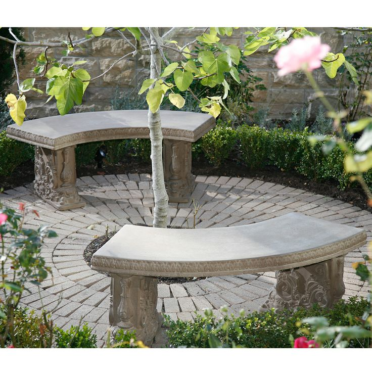 24 Best Curved Benches Images On Pinterest