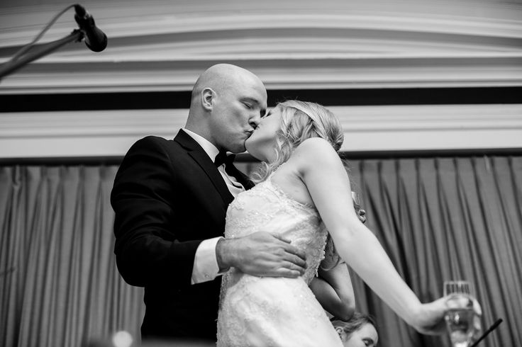 New Year's Eve Black & White Wedding | thedomesticblonde.com
