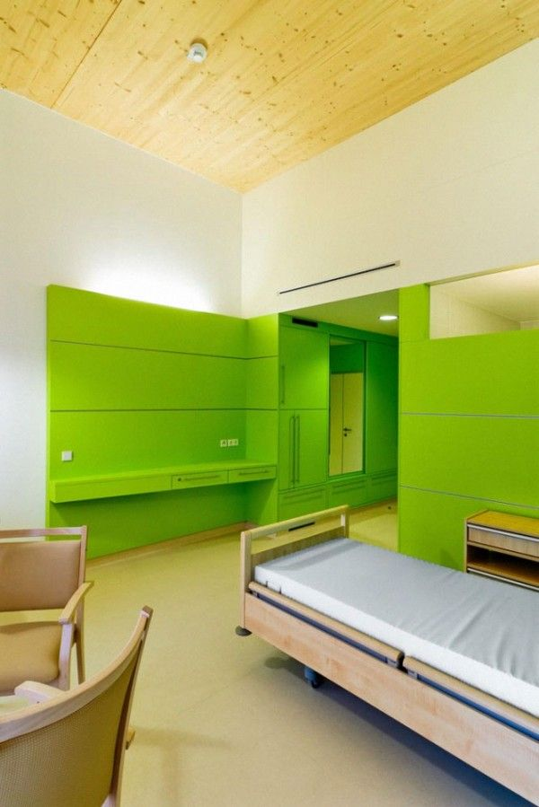 Architectural Nursing Home Project In Hofmeisterstra E Interiorism Decor Pinterest Home