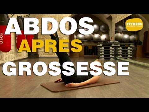 Fitness Master Class - Abdos après grossesse - YouTube