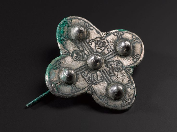 A new type of Anglo-Saxon quatrefoil brooch found with the Galloway Hoard.  We've been give the chance to save the Hoard for the nation. Donate now to secure the Hoard and unlock its secret: www.nms.ac.uk/hoard
