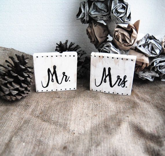 Rustic Wedding Signs Mr and Mrs sign Mr & Mrs Sweetheart