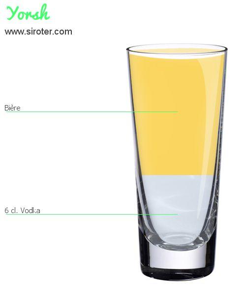 Recette Cocktail YORSH