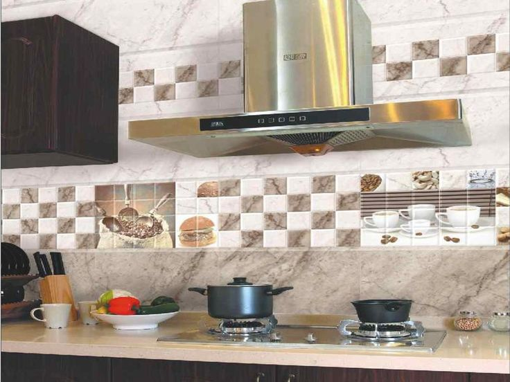 Modren Kitchen Tiles In India For Compact Backsplash Intended