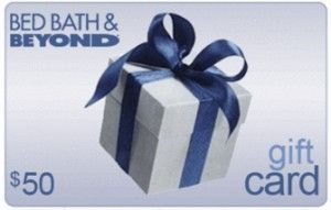 Win a $50 Bed, Bath & Beyond Gift Card TODAY! All you have to do is visit the link and answer the question in the comments for a chance to win: http://sweepstakes.rewardit.com/win-50-bed-bath-beyond-gift-card/#