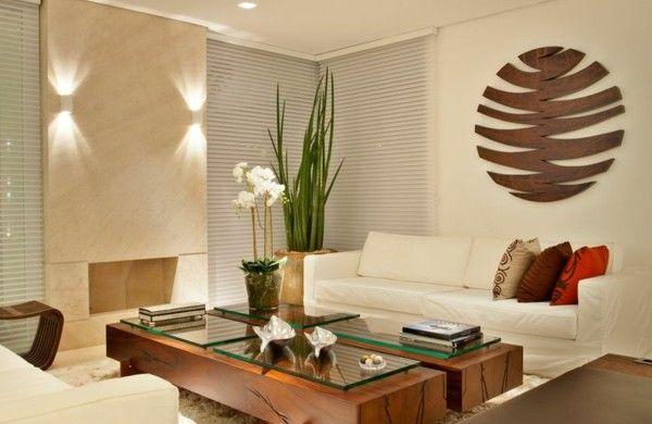 wohnzimmer möbel modern trendy beleuchtung lichter