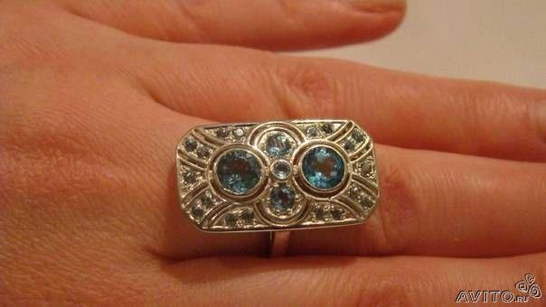 Изящное кольцо купить в Москве на Avito